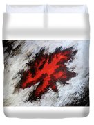 Endeavor Abstract Expressionism Duvet Cover