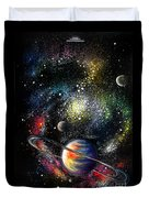Endless Beauty Of The Universe Duvet Cover