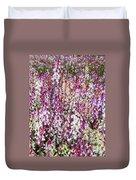 Endless Field Of Flowers Duvet Cover