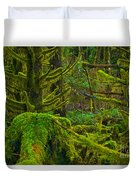 Endless Green Duvet Cover