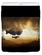 Endless Journey - Steampunk Incredible Adventure Duvet Cover