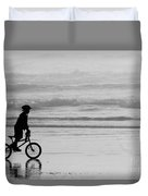 Endless Possibilities - Black And White Duvet Cover