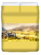 Enduring Courage - Panoramic Duvet Cover