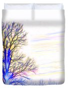 Energy Tree Duvet Cover