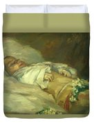 Enfant Mort Detail 1881 Duvet Cover