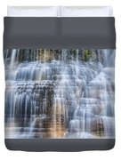 Lower Falls Cascade #1 Duvet Cover