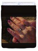 Engagement Ring Duvet Cover