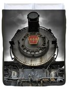 Engine 460 Front And Center Duvet Cover
