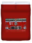 Engine 51 Grill Duvet Cover