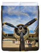 Engine B-17 Duvet Cover
