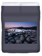 England, Northumberland, Embleton Bay. Duvet Cover