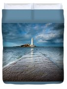 England, Tyne And Wear, Whitley Bay  Duvet Cover