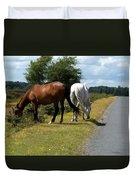 England - Wild Horses Duvet Cover