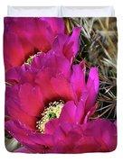 Engleman's Hedgehog Cactus  Duvet Cover