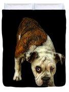 English Bulldog Dog Art - 1368 - Bb Duvet Cover