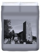 English Churchyard Duvet Cover