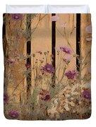 English Garden In Pastels Duvet Cover