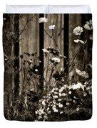 English Garden Noir Duvet Cover