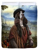 English Springer Spaniel Art Canvas Print  - The Port Duvet Cover
