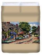 English Tapestry Duvet Cover