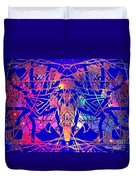 Enigma In Abstraction Duvet Cover
