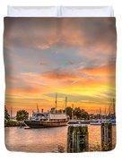Enkhuizen Sunset Duvet Cover
