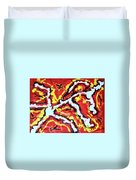 Enlightenment Of The Subconscious Mind Duvet Cover