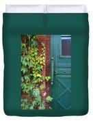 Enter Vine Door Duvet Cover