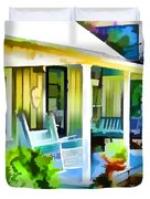 Entrance Of A House 1 Duvet Cover