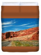 Entrance To Arches National Park Duvet Cover