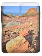 Entrance To Cohab Canyon Duvet Cover