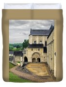 Entrance To Fontevraud Abbey Duvet Cover