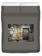 Entrance To Machupicchu Duvet Cover
