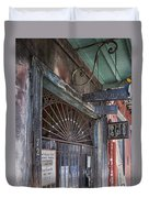 Entrance To Preservation Hall, New Orleans Duvet Cover