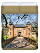 Entrance To The Castle, Belgium Duvet Cover