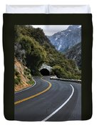 Entrance To The Valley Duvet Cover