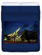 Entrance Wright Patterson Afb Duvet Cover