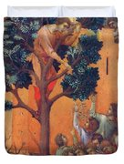 Entry Into Jerusalem Fragment 1311 Duvet Cover