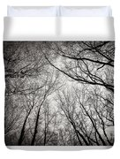 Entwined In The Sky Duvet Cover