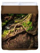 Entwined Roots Duvet Cover