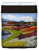 Epcot Gardens Duvet Cover