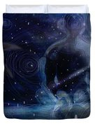 Ephemeral And Illusionary Existence Duvet Cover