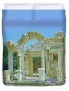 Ephesus.ruins Duvet Cover