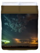 Epic Nebraska Lightning 005 Duvet Cover
