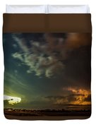 Epic Nebraska Lightning 006 Duvet Cover