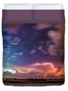 Epic Nebraska Lightning 009 Duvet Cover