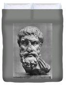 Epicurus (342?-270 B.c.) Duvet Cover