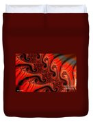 Epidermal Emancipation Duvet Cover