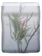 Epiphyte In The Fog Duvet Cover