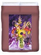 Epitaph For Rc My Friend Duvet Cover